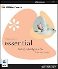 Zondervan Essential Bible Study Suite MAC CD resources 4 translations commentary