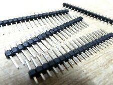 "20x Single Row PCB Pin Header Connector strip 20 Way  0.1"" 2.54mm"