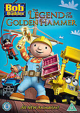 Bob The Builder - The Legend Of The Golden Hammer (DVD, 2010)