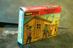 TIMPO WW Wild West Cowboy Town Building US Marshals Office Boxed