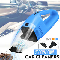 100W Car Vacuum  Handheld 12V 2600PA Powerful Wet And Dry Vacuu