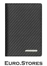 AMG Mercedes Benz Car Documents Wallet Black Leather Carbon B66959995 Genuine