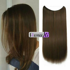 Hidden Halo Invisible Wire Weft 100% Remy Human Hair Extension Half Head Hairpie