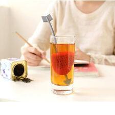 Tea Filter Strainer Cup Glass Teacup Teapot Infuser Cupid Heart Arrow Gift Xmas