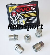EVO 5 Locking Wheel Nuts for Mitsubishi OE Style 12x1.5