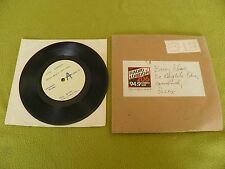 "Otis Liggett - Every Breath You Take (Sting) RARE White Label Promo 7"" BBC Radio"