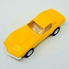 "Vintage Tonka Corvette 7"" Yellow Corvette Stingray Retro Toy Car"