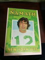 1971 Topps NFL Football Posters - pick your favorite!
