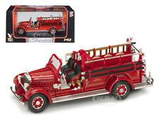 1935 MACK TYPE 75BX FIRE ENGINE RED 1/43 DIECAST MODEL BY ROAD SIGNATURE 43001