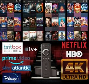 Amazon Fire Stick TV ***New Limited Edition Model*** All Entertainment