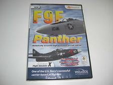 F9F PANTHER Pc GRUMMAN Add-On Flight Simulator Sim X FSX - NEW SEALED
