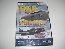 F9F PANTHER Pc GRUMMAN Add-On Flight Simulator Sim X FSX - NEW SEALED