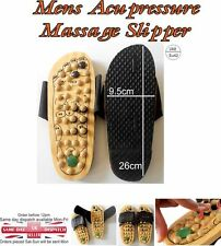 Healthy Reflexology Wooden Foot Massager MASSAGE SANDALS Shoes Size  Eu 42