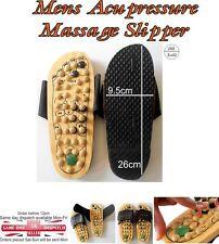 Masajeador saludable Reflexología Pie Madera Masaje Sandalias Zapatos Talla EU 42