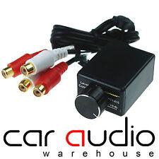 Autoleads PC1-615 - Universal Car Audio Amplifier Amp Bass Level Gain Controller