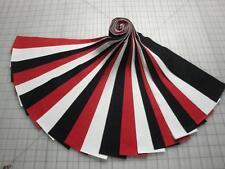 "Jelly Roll ""Black,White & Red"" Kona Cotton-21-2-1/2"" X 44"" Strips"