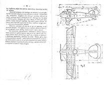 Albatros D.III DIII Period Biplane Manual VERY RARE ARCHIVE 1919 WWI Fighter