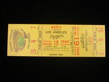 September 19, 1968 Los Angeles Dodgers Full Ticket