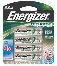 4 x Energizer AA 2450 mAh Rechargeable Batteries