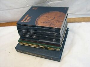 Lot Unused Coin Albums Lincoln Cent Dime Nickel Quarter Dollar Whitman Folder
