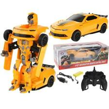 Zdalnie Sterowany Transformers 2w1 Auto Robot