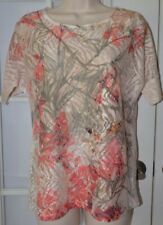 Chico's Sheer Top Size 0