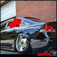 Rear Roof Spoiler Window Wing (Fits: Honda Civic 2006-11 4dr) 284R SpoilerKing