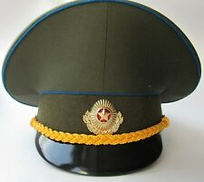Sz.56 Original ex-Soviet ex-USSR Belarus Army Air Force Officer Cap + badge