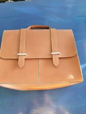 Tan Leather Satchel Clarks Rucksack Laptop Bag