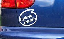100mm Hybrid turbo inside sticker decal for - Toyota Starlet Glanza GT Turbo