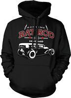 Genuine Rat Rod Drive Hard Vintage Hotrod Hot Rod Car Hoodie Pullover