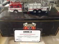 Code 3 1/64 Cedar Hill Pierce Dash Rear Mount Ladder limited edition