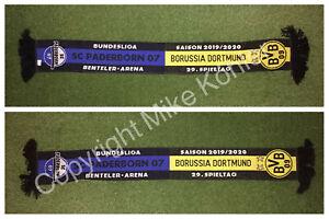 """Sammelauflösung / SC Paderborn vs Borussia Dortmund Schal / Bundesliga 2019-20"""