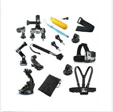 Head Chest Mount Floating Monopod Pole Accessories Go Pro kit Hero 1 2 3  Camera