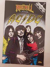 AC/DC: ROCK 'N' ROLL COMICS #22 (1991) REVOLUTIONARY COMICS 1ST PRINT