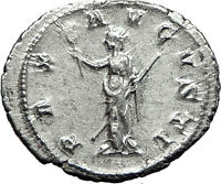 Gordian III 238AD Rome Silver Authentic Genuine Ancient Roman Coin PAX  i59037