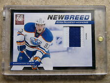 11-12 Panini Elite RC Rookie New Breed RYAN NUGENT-HOPKINS Patch /25