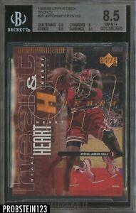 1998-99 Upper Deck Bronze #25 Michael Jordan Scottie Pippen /100 BGS 8.5