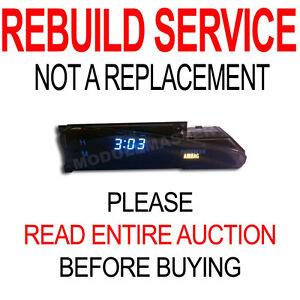 Rebuild Repair for 03 04 05 06 Toyota Matrix Digital Clock