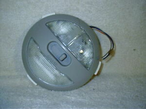 06-08 GM Chevy HHR Dome Map Light With Wiring Harness Gray OEM