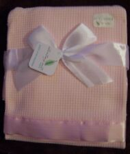 NWT STARTING OUT THERMAL BABY CRIB BLANKET Yellow Ivory White Blue Pink Green