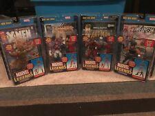 Marvel legends GIANT MAN series Set Of 4 baf set by TOYBIZ