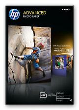 HP Advanced 10x15 Glossy Photo Paper - 60 Sheets