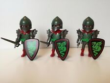 Playmobil 7669 - Set of 3 Knights of the Green dragon