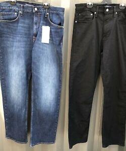 Mens Calvin Klein American Classics Denim Jeans, Straight Leg RRP $130