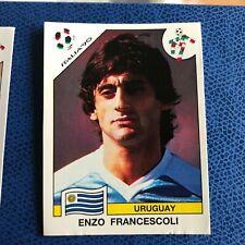 PANINI ITALIA 90 F.I.F.A. WORLD CUP FRANCESCOLI N 379 CON VELINA ORIGINALE