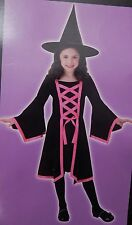 Totally Ghoul Dazzling Witch Girls Costume Medium