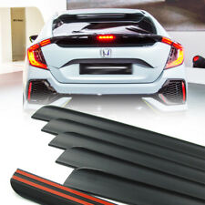 For 17-18 Honda Civic X 10th Hatchback Rear Trunk Lip Spoiler Wing Unpaint PUF