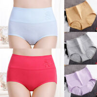 Women High Waist Panties Breathable Cotton Underwear/Seamless Briefs Knickers