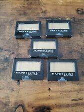 5 Pack Maybelline New York Expert Wear Eyeshadow 90S Gold School New